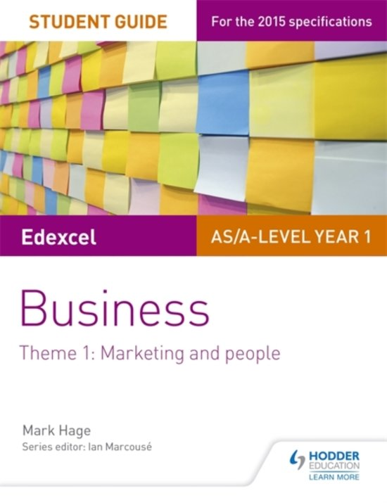 Edexcel AS/A-level Year 1 Business Student Guide