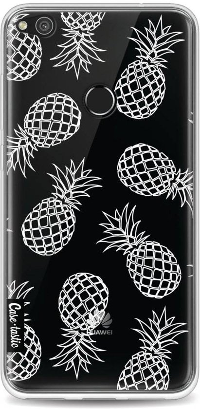 Casetastic Softcover Huawei P8 Lite (2017) - Pineapples Outline