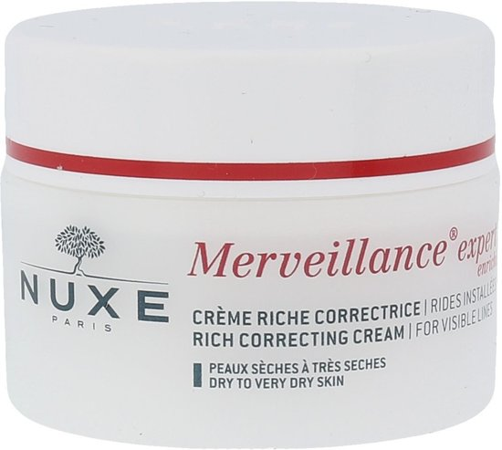 Nuxe Merveillance Expert Rich Correcting Cream For Visible Lines Dagcrème 50 ml