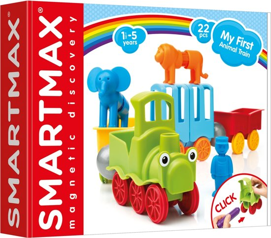 SmartMax My First Animal Train - Magnetische Dierentrein