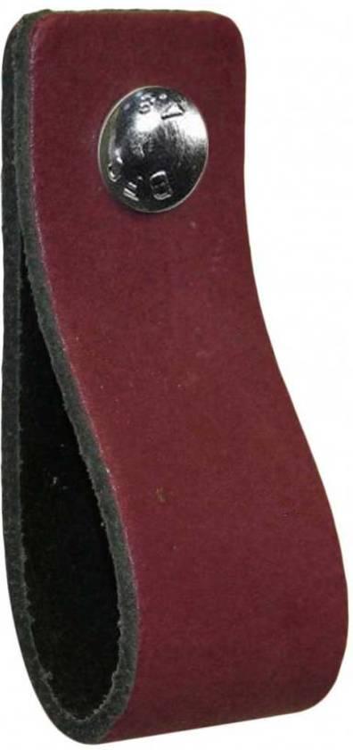 NiiNiiX Leren handgreep Paars - Maat L 3.0 x 19 cm;