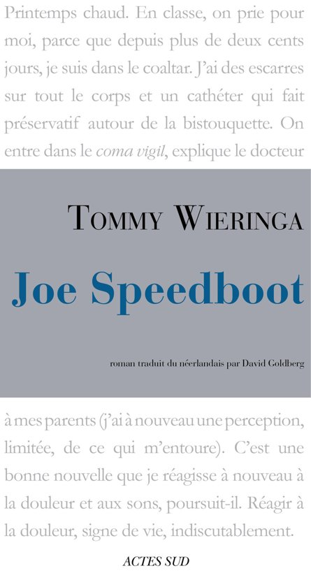 Joe Speedboot Epub