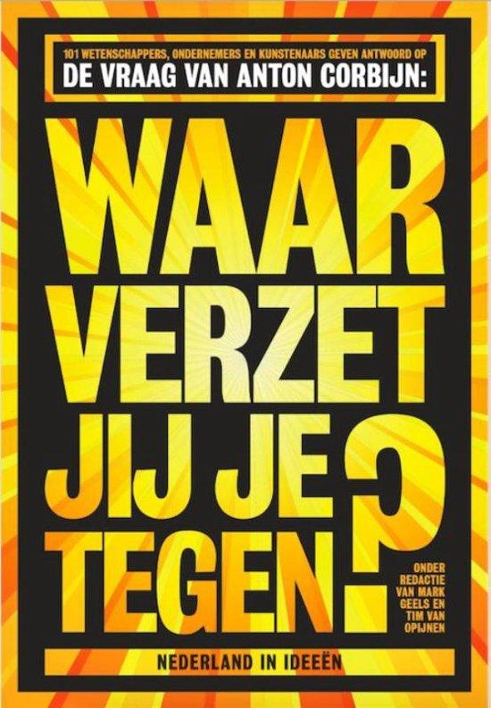 Boek cover Waar verzet jij je tegen? van Mark Geels (Paperback)