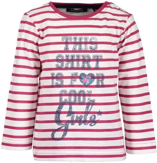 Blue Seven Meisjes T-shirt - Roze - Maat 74