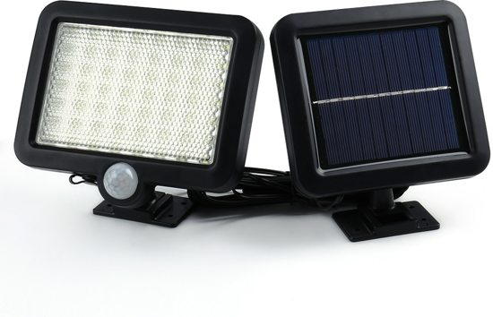 Bol led buitenlamp op zonne energie met bewegingssensor en