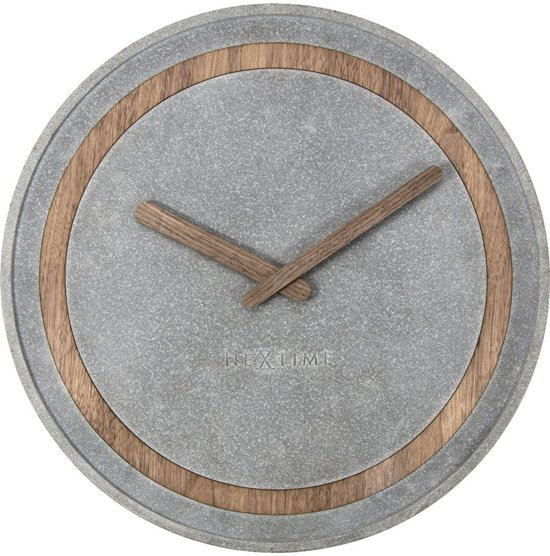 NeXtime Concreto Wandklok à 39,5 cm