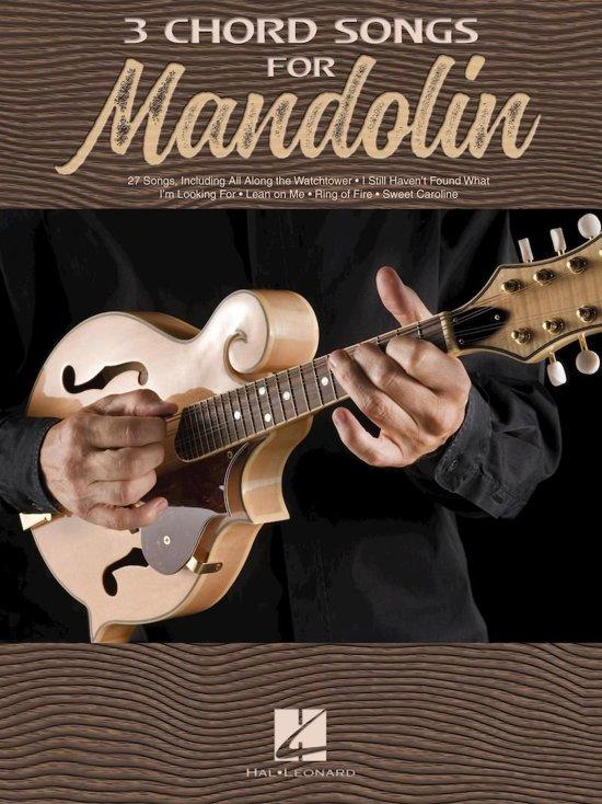 Bol 3 Chord Songs For Mandolin Ebook Hal Leonard Corp