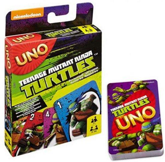58147d1f14c bol.com | Uno - Teenage Mutant Ninja Turtles, Uno | Speelgoed