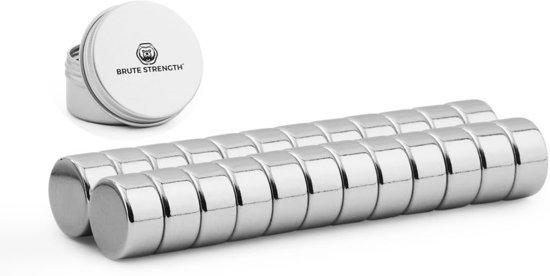 Super sterke magneten - Rond - 10 x 5 mm - 20 Stuks