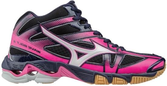 Mizuno Wave Bolt 6 Mid zwart volleybalschoenen dames