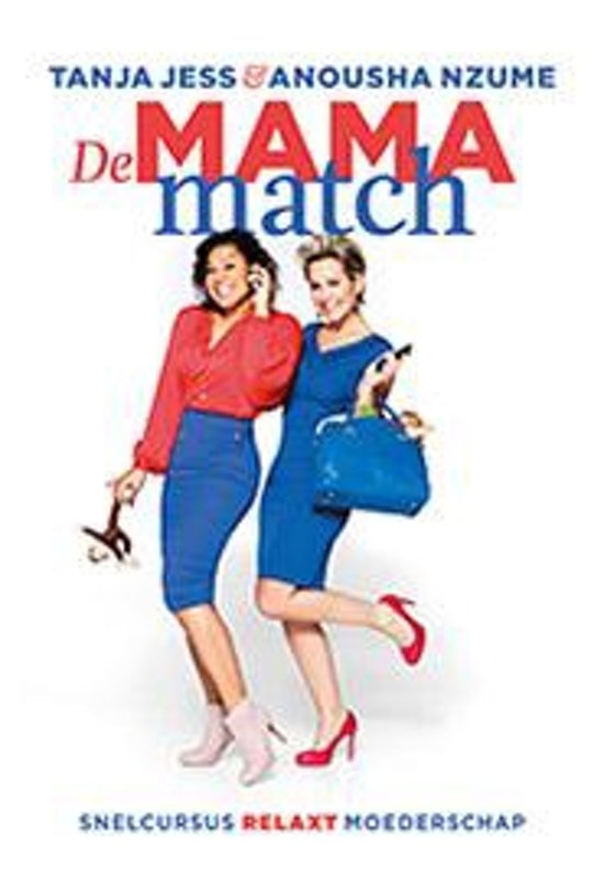 Boek cover De mama match van Tanja Jess (Paperback)