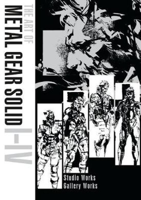 Art Of Metal Gear Solid I-iv - Y. Shinkawa