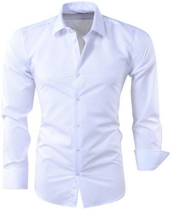Heren Overhemd Wit.Bol Com Pradz Heren Overhemd Wit