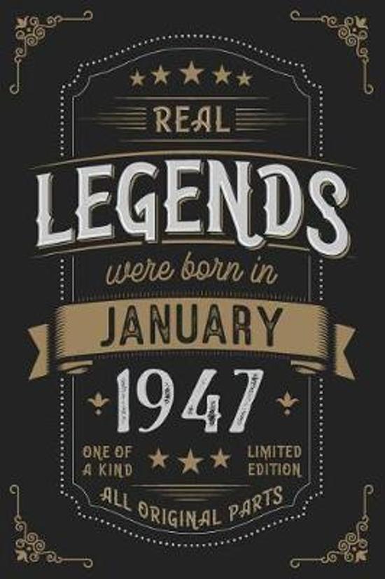 Real Legendes were born in Januar 1947