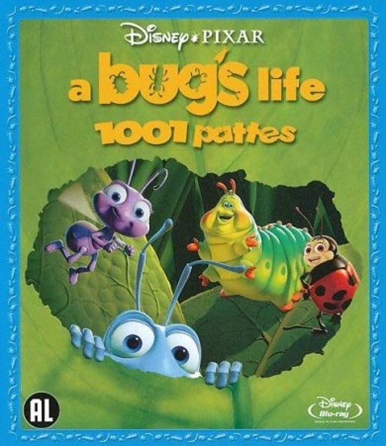 Cover van de film 'Bug's Life'