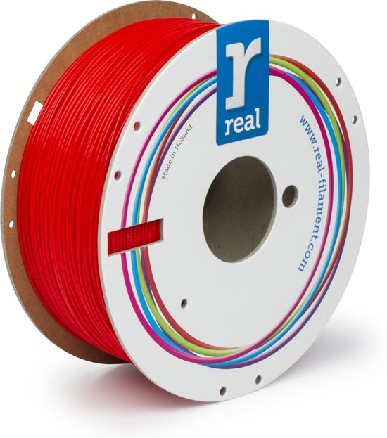 REAL Filament PLA rood 1.75mm (1kg)
