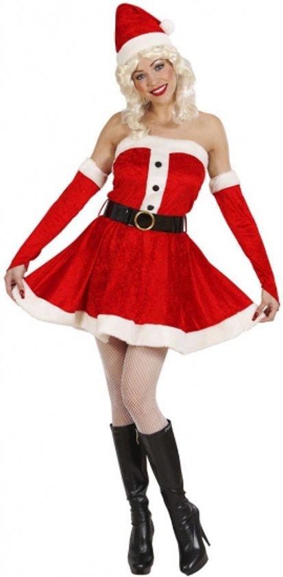 a1295ae4b26073 Fluwelen kerstjurkje voor dames S
