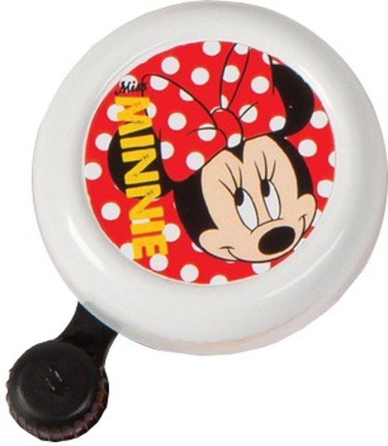 Widek Disney Minnie Mouse - Fietsbel - Wit