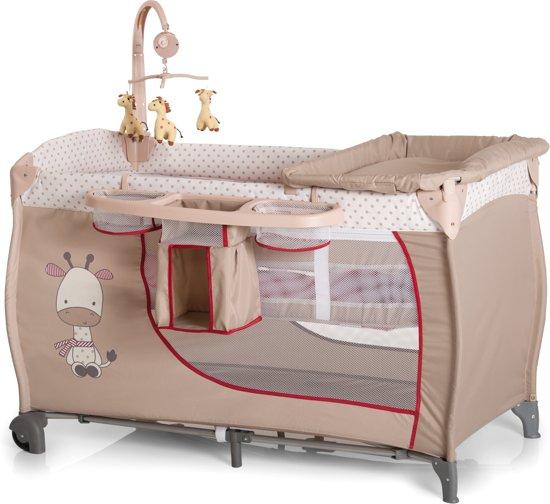 Hauck Babycenter - Campingbedje - Giraffe