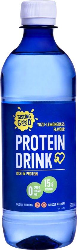 Protein drink yuzu-lemongrass suikervrij 12x500ml
