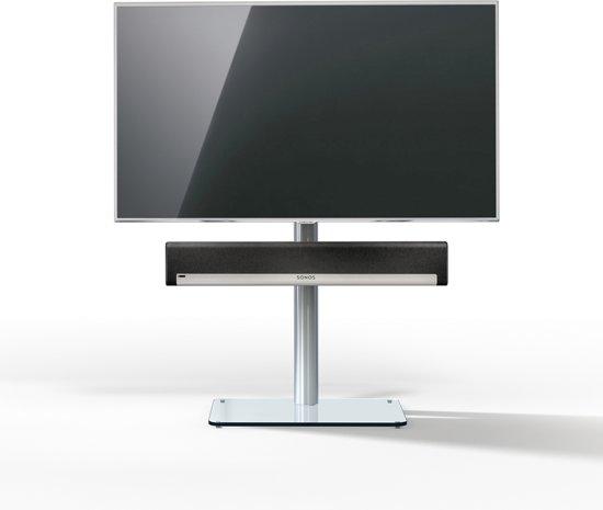 Spectral | Just-Racks TV600SP-KG | soundbar tv-standaard helder glas