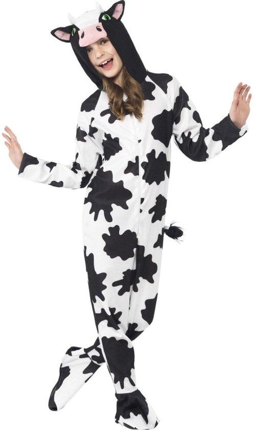 Koeien onesie / kostuum voor kinderen - koe dierenpak 130-143 (7-9 jaar)