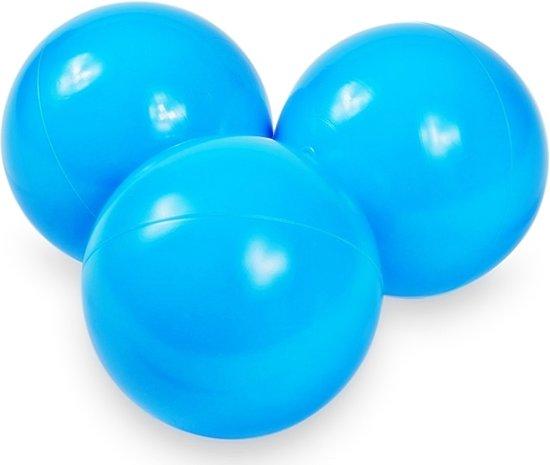 Ballenbak ballen licht blauw (70mm) voor ballenbak 100 stuks