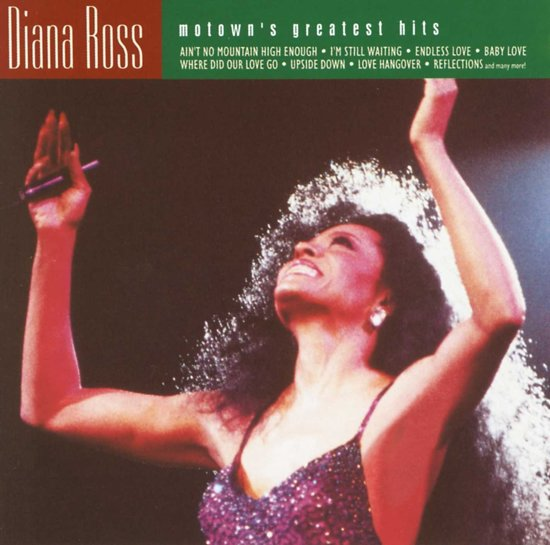 CD cover van Motowns Greatest Hits van Diana Ross