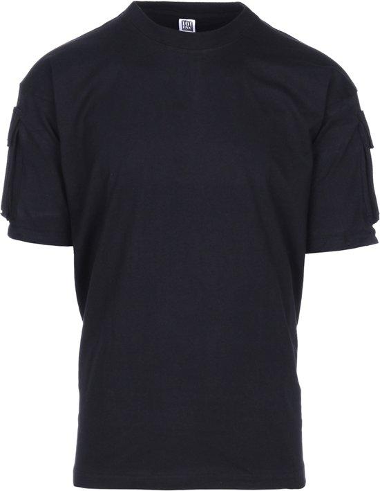 101inc T-shirt Tactical Pocket zwart