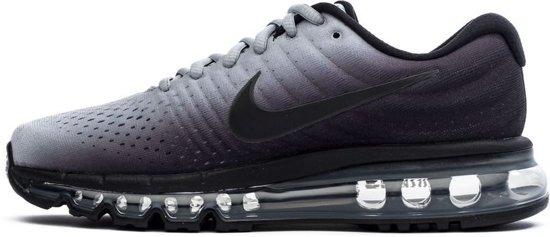on sale 90e56 6786a bol.com | Nike Air Max 2017 BG Sneakers Kinderen - Black/Black-Wolf Grey