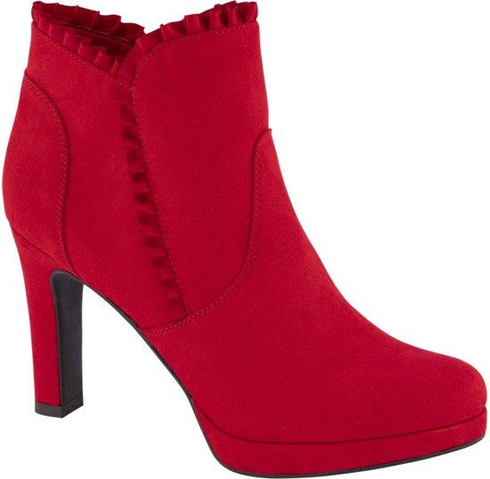 Rode dames laarzen 39