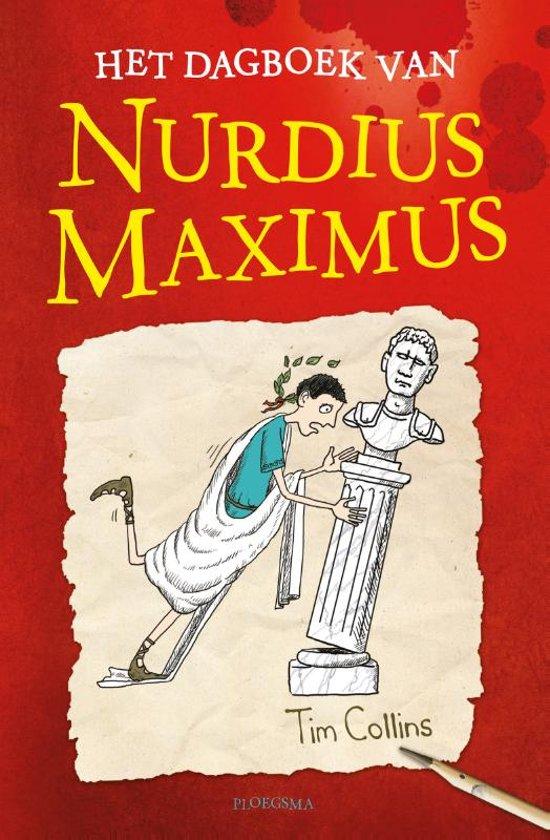 Boek cover Het dagboek van Nurdius Maximus van Tim Collins (Hardcover)