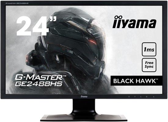 iiyama G-MASTER GE2488HS-B2 24'' Full HD LED Mat Flat Zwart computer monitor