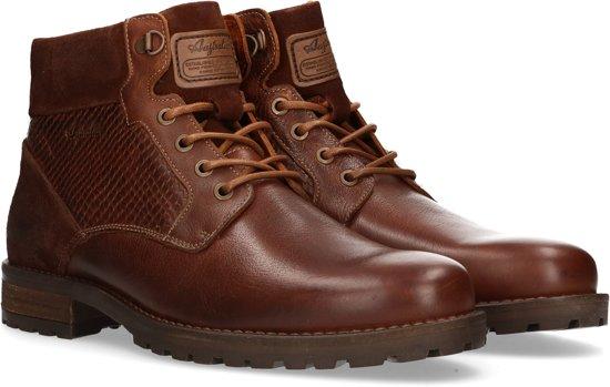 Australian Schoenen tan Met En Veter Cognac Gonzalo 45 Heren Maat Rits T00 Hrqw4HBxW5