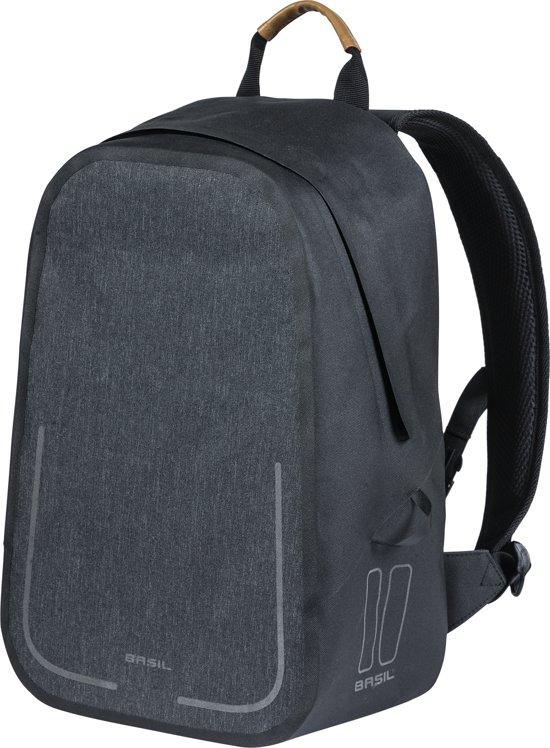 f45aab989b1 Basil Urban Dry Backpack- Fietstas - 18 liter - Grijs