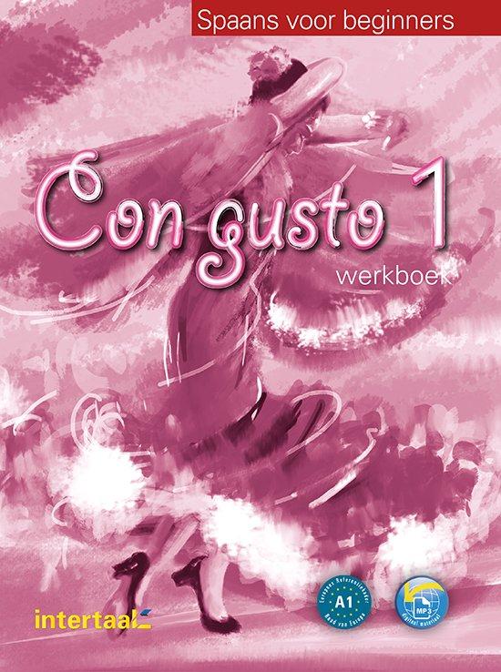 Boek cover Con gusto 1 werkboek + online MP3 van E.M. Lloret Ivorra (Onbekend)