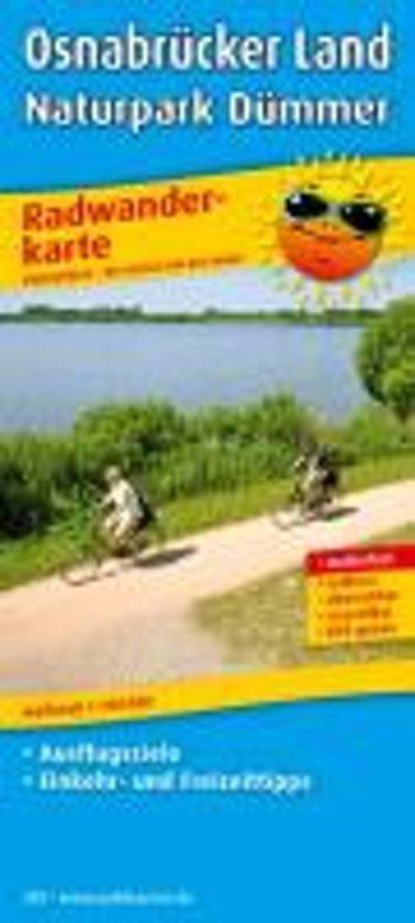 Osnabrücker Land - Naturpark Dümmer Radwanderkarte 1 : 100 000