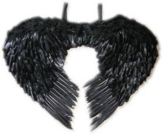 Veren In Huis : Bol.com engelen vleugels zwarte veren 60 x 75 cm partylook