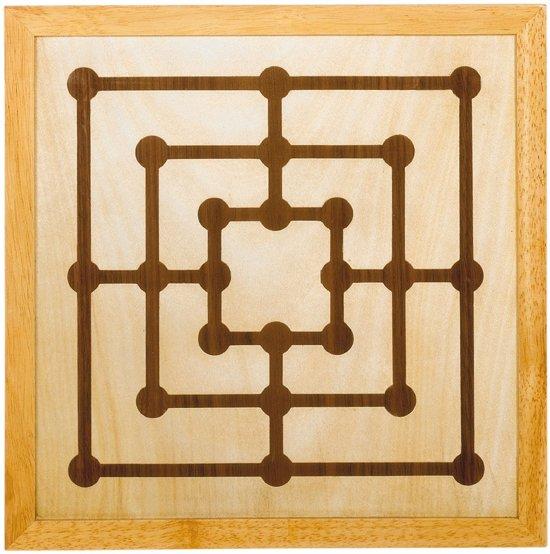 Goki Schaakspel en Molenspel van hout
