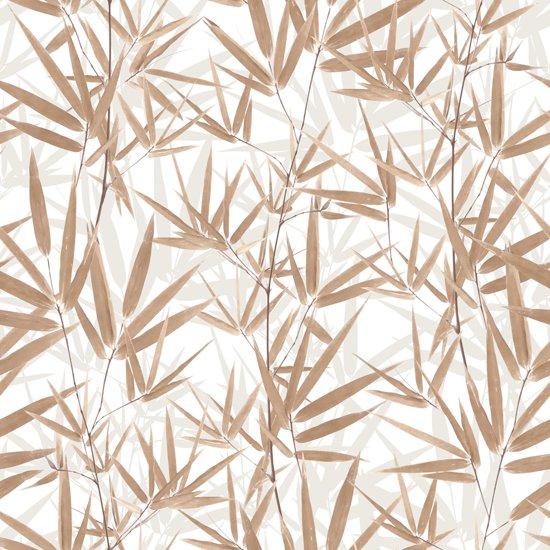 Dutch Wallcoverings vinylbehang bamboe - beige