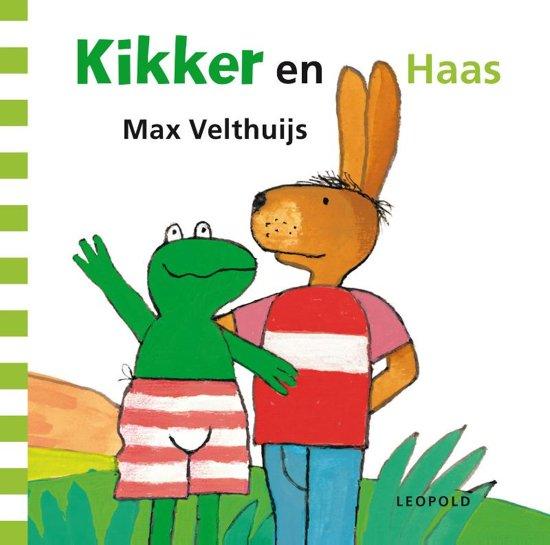 Boek cover Kikker - Kikker en Haas van Max Velthuijs (Onbekend)