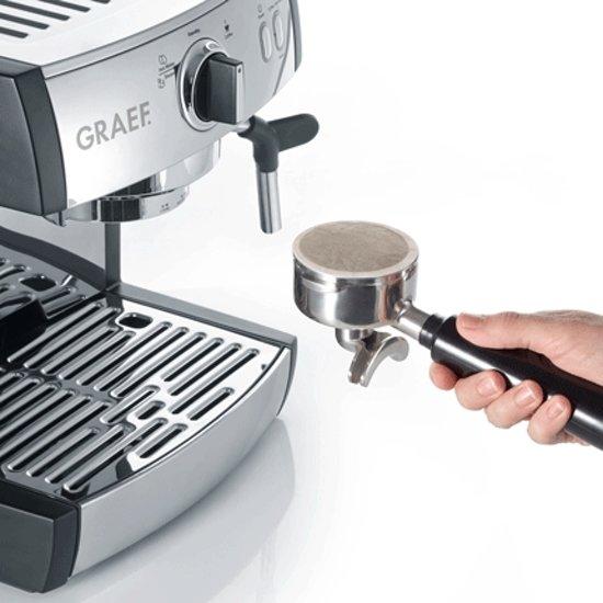 Graef Espressomachine Pivalla ES702 en Koffiemolen CM702