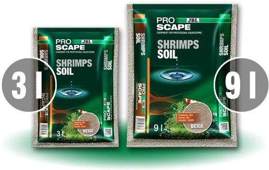 JBL Proscape Shrimpsoil - pH verlagende bodem aquarium beige 9 liter
