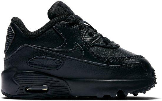 96aa727a4aa bol.com   Nike Air Max 90 Ltr (TD) Sneakers Kinderen - Black/Black