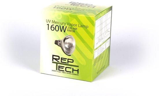 RepTech Kwikdamplamp 160 watt