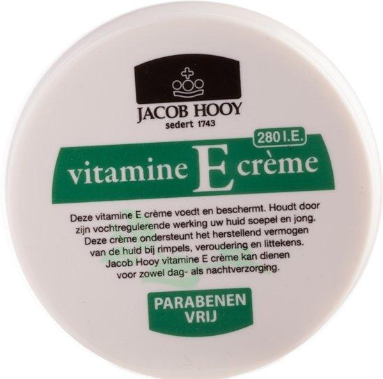 jacob hooy vitamine e creme pigmentvlekken