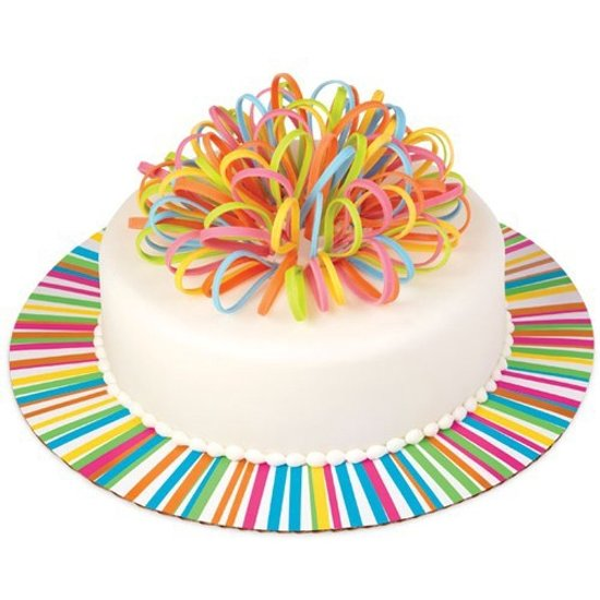 Strange Bol Com Wilton Cake Board Colorwheel Round 30Cm Funny Birthday Cards Online Barepcheapnameinfo