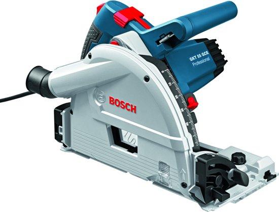 Bosch Professional GKT 55 GCE Cirkelzaag - 1400 Watt - 57 mm zaagdiepte - Inclusief zaagblad