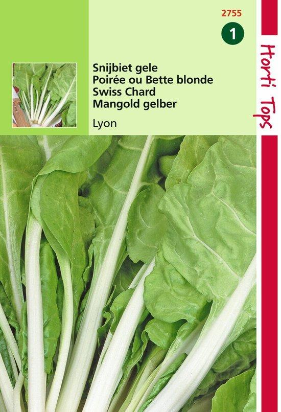 2 stuks Hortitops Snijbiet Blonde A Carde Blanche Gele Witribbige 2