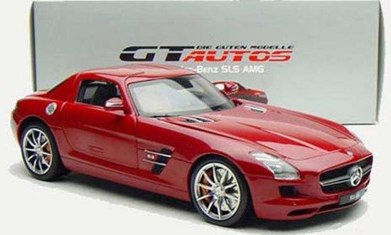 Bol Com Mercedes Benz Sls Amg 1 18 Welly Gt Autos Rood 11002mb